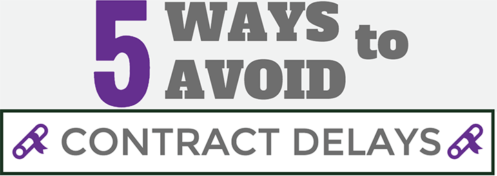 How to Avoid Contract Delays in your Sourcing Process